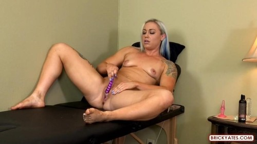 Princess - Massage Therapist Pees With The Dildo In Her Ass [FullHD/1080p]