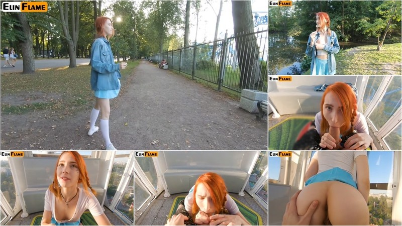 Elin Flame - CUTE TEEN SWALLOWS HOT CUM - PUBLIC BLOWJOB ON FERRIS WHEEL BYElin Flame - Watch XXX Online [FullHD 1080P]