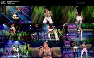 Ana Mena & Becky G Video MicroMini MiniShorts Escotazo Con Botas Altas En Su Actuación En Factor X