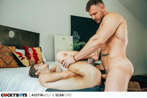 A Man and his Boy 2 Austin Wolf & Sean Ford [Bareback]