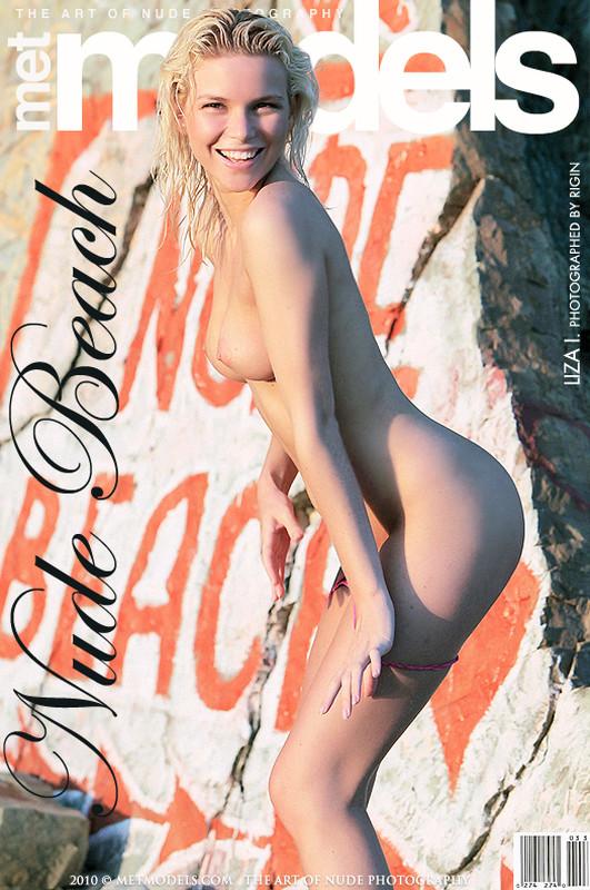 Liza I - Nude Beach (x164)