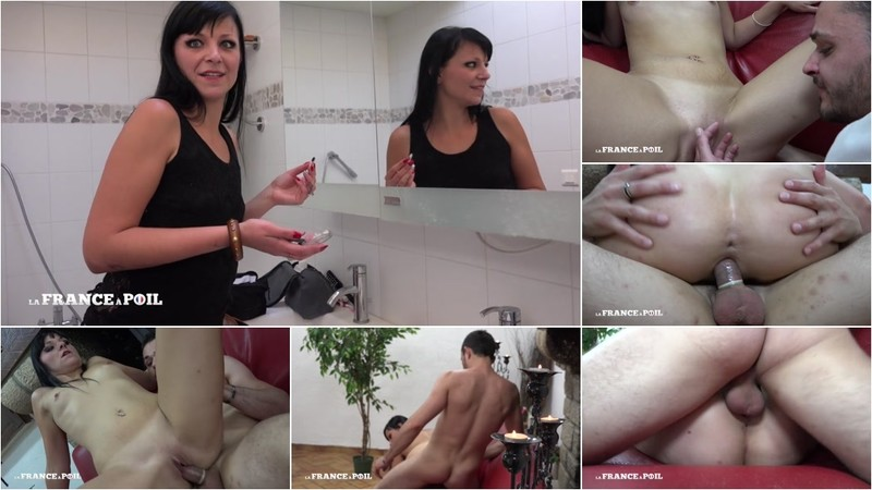 Natacha Guapa - Casting couch of a beautiful tall dark haired babe with small breast [HD 720P]