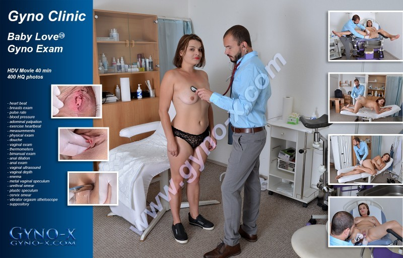 BABY NICOLE - 26 years girl gyno exam 720p