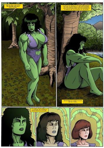 Jen and David Banner 3D Adult Comics