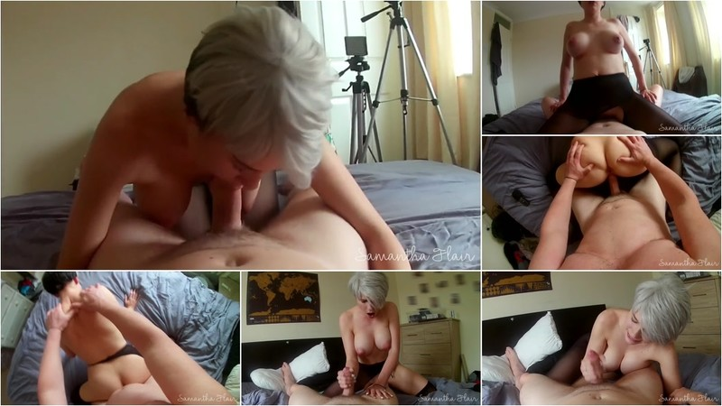 Kinkycouple111, Samantha Flair - Pantyhose Ripped & Dicked - Pov - Watch XXX Online [FullHD 1080P]
