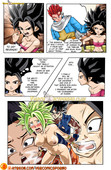 Drah Navlag - Trunks and Caulifla - Dragon Ball Super XXX comic