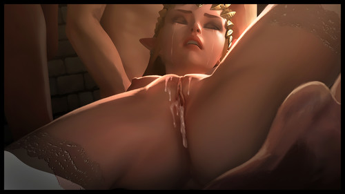 Free Download 3D Adult Comics  [Firolian] Princess Zelda 2-3