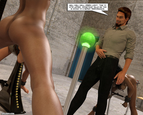 The Sorority - Chase Against Time 14 3D Adult Comics