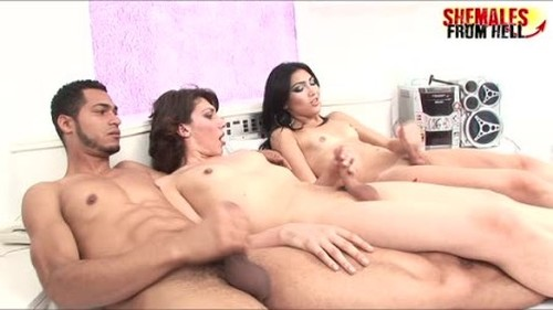 Sandy Lopez Paloma Padilha Alexandre Reamstered - Ladyboy, TGirls Porn, Girl with dick