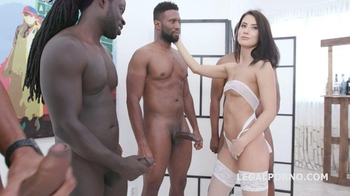 Nicole Black, Yves Morgan, Dylan Brown, Freddy Gong - Interracial Anal Creampie With Nicole Black Balls Deep Anal, Superb Gapes, Dap, Farts And Creampie Gio1199 [HD/720p]