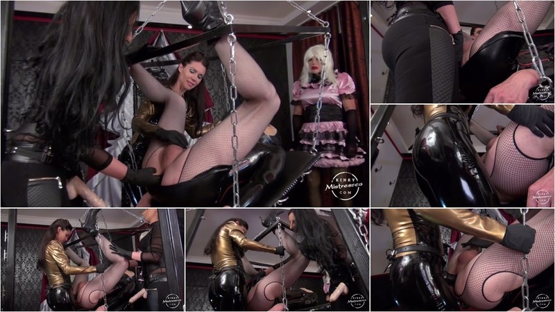 Mistress Susi - The TV Bitch Has to Take Our Strap-on [HD 720P]