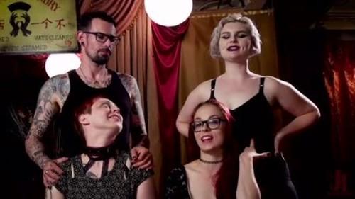 BDSM Swinger Orgy Served by the Anal Servant Girls - BDSM, Bondage, Bound