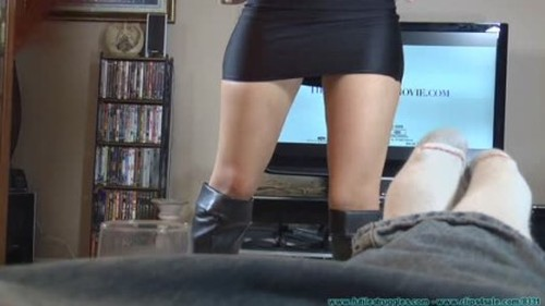Bitchy Wife Briella Jaden Wants to be Put on a Pedestal But Ends Up On Her Knees - BDSM, Bondage, Bound