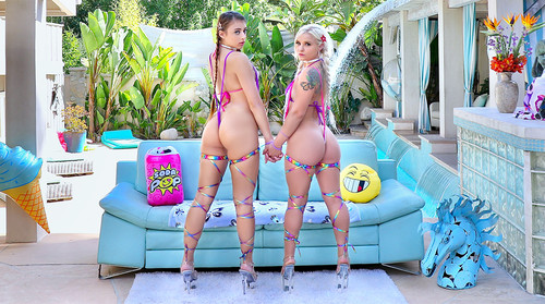 Bella Jane, Gia Derza - Are Hungry For Dick (SD)