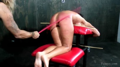 Caned Hard - Strictly Spanking, BDSM, Pain Video