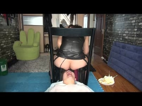 Jing Queen feed her slave dog - Femdom Scat, Humiliation Scat, Copro Video