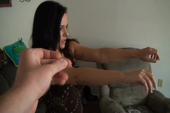 POV Hypno video new neighbor loves tits