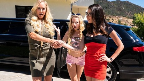 "Brandi Love, Scarlett Sage, Dava Foxx in ""My Mom Does What"" [SD]"