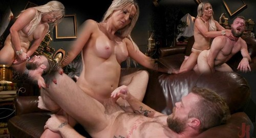Kayleigh Coxx - Kayleigh Coxx - Time To Play Kayleigh Coxx Brings Mike Panic To Life For Kinky Fun (HD)