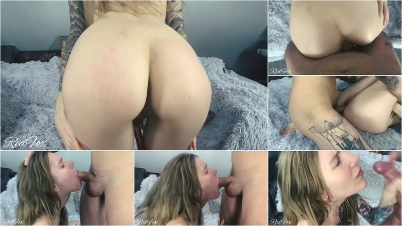 RedFox XXX - Slim Girl Seduces A Guy And Gets Fucked In Tight Pussy And Mouth Redfox [FullHD 1080P]