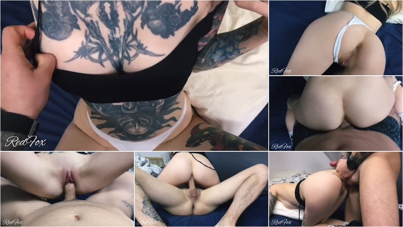 RedFox XXX - Cute Teen In Tattoos Was Hard Fucked In Tight Pussy Sperm Was On The Ass [FullHD 1080P]