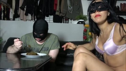 A Mountain Of Shit For My Slave - Femdom Scat, Humiliation Scat, Copro Video