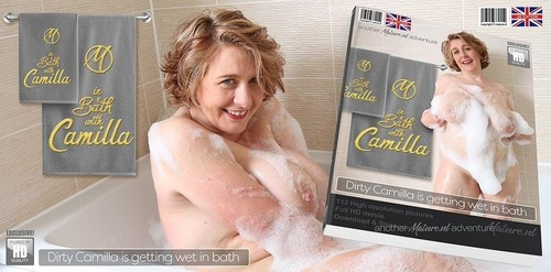 Big Breasted Camilla Is Taking A Bath... Will You Join Her [FullHD]