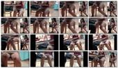 【4K高画質】お話しに夢中でパンツがもろ見えなロリ系女子の極上対面ぱんちら~4K&FHD~