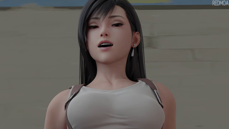 Tifa Lockhart Foot Fetish Femdom - Redmoa - Final Fantasy Hentai 13