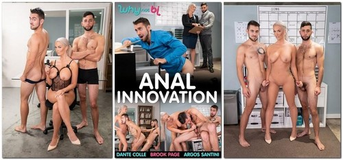 Brook Page, Dante Colle, Argos Santini - Anal Innovation (2020/HD)