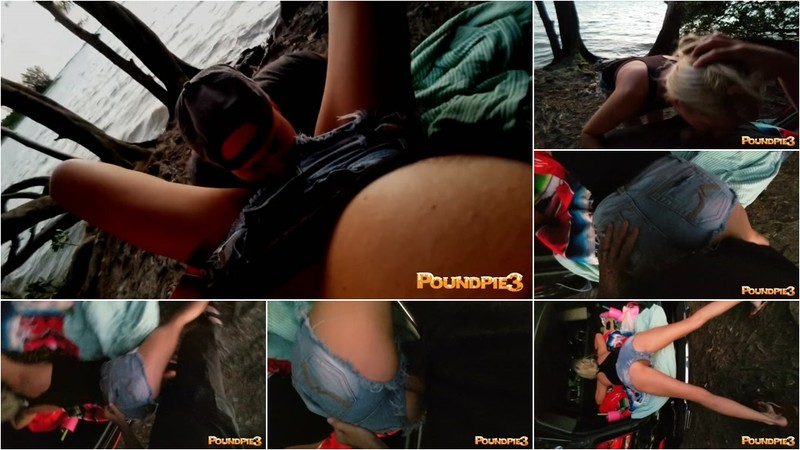 PoundPie3 - Public Beach Sunset & Creampie For [FullHD 1080P]