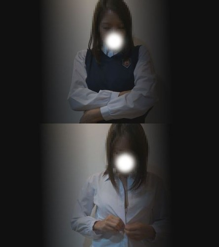 【フルHD】高画質・検診車生着替え隠し撮り・J○野球部マネージャーの日焼け巨乳娘⑯