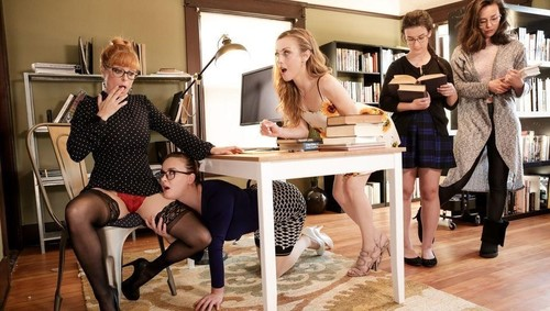 "Penny Pax, Karla Kush, Jay Taylor in ""The Library Is Now Closed"" [HD]"