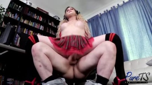 Hayley Hilton - Two Nerds Have Hot Anal Sex - Shemale, Ladyboy Porn Video