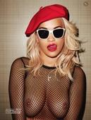 Rita Ora Poses Nude in LUI Magazine