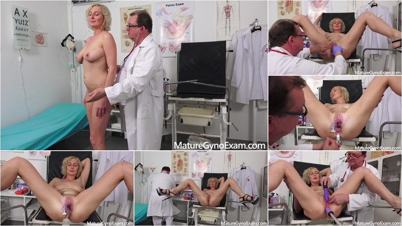 Kaylea Tocnell perverse anal and vaginal speculum medical exam [FullHD 1080P]