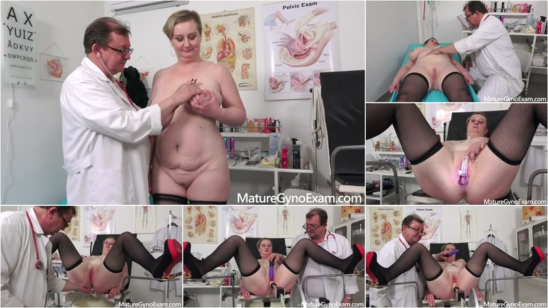 Samantha Si - Deep pussy and breasts examination of busty mature woman [FullHD 1080P]