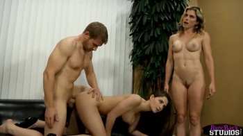 Family hypno porn video with double penetration