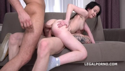 Sweetie Plum First Time Dp With Rough Action, Balls Deep Anal, Gapes And Facial [SD]