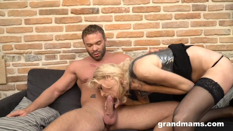 GrandMams.com - Married cougar hires a young gigolo 540p
