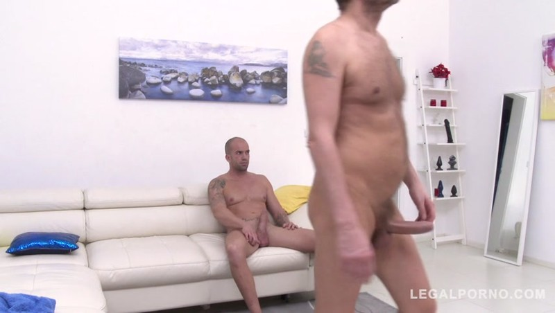 Kate Rich pushes oil out of her ass while being fucked by 3 huge cocks SZ2384 b sd