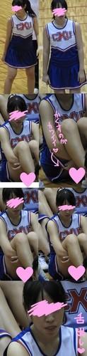 アイドル級超絶美少女J〇チアちゃん 睨まれパンチラ粘着撮り【フルHD 60fps】