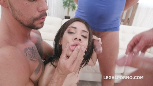 7On1 Dap Gangbang With Emily Pink, Balls Deep Anal, Dap, Tp, Gapes And Swallow Gio1313 [HD]