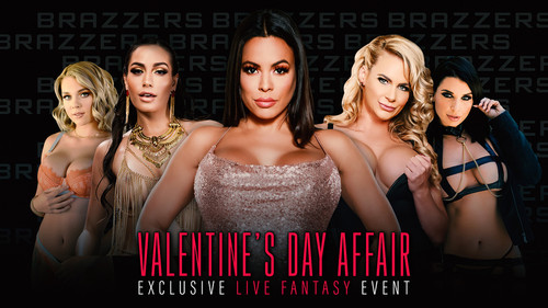 "Valentines Day Affair in ""Brazzers Live"" [HD]"