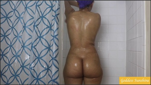 Nude Cleaning and Showertime! - Goddess Sunshine  - iwantclips