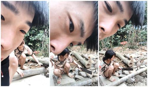 【18岁的越南小姑娘】身材相貌极品楚楚可怜的妹子既要劈柴干活还要满足老公的性需求[423MB]