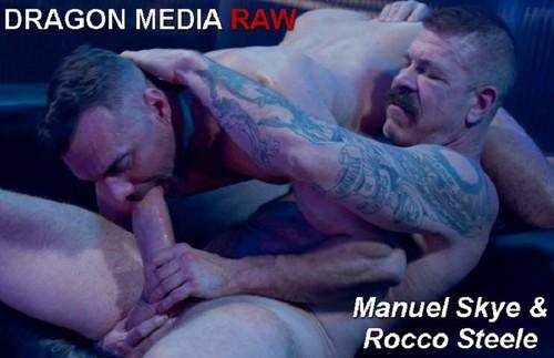 DragonMediaRaw - Barcelona Underground Sc. 3: Manuel Skye & Rocco Steele Bareback