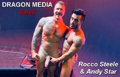 DragonMediaRaw - Barcelona Underground Sc. 1: Rocco Steele & Andy Star Bareback