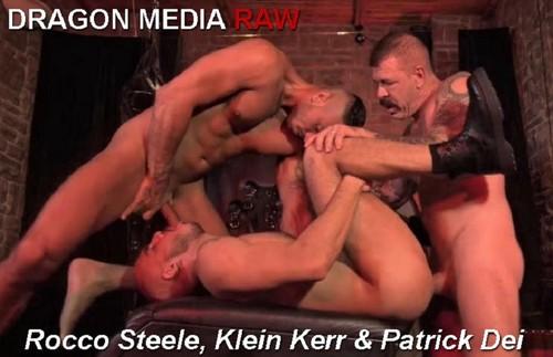 DragonMediaRaw - Barcelona Underground Sc. 4: Rocco Steele, Klein Kerr & Patrick Dei Bareback