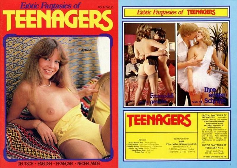 Erotic Fantasies Of Teenagers V1 N2 (1979) JPG
